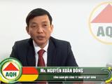 Ông Nguyễn Xuân Đông khi đảm nhiệm vị trí Tổng Giám đốc An Quý Hưng (Nguồn: AQH)