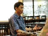 Chuyên gia kinh tế, TS. Võ Trí Thành trong một buổi trao đổi với CLB Cafe Số. (Ảnh: Hoàng Nguyên)