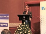 TS. Nguyễn Đức Thành phát biểu tại buổi tọa đàm (Nguồn: VEPR)