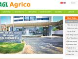 Trang chủ của HAGL Agrico (Nguồn: haagrico.com.vn)