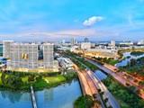 Một góc của khu đô thị Phú Mỹ Hưng tại Quận 7, Tp. HCM (Nguồn: Internet)