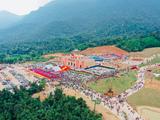 Toàn cảnh Khu du lịch tâm linh - sinh thái Tây Yên Tử tại Lễ khai hội xuân năm 2019 (Nguồn: dulichbacgiang.gov.vn)