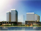 Phối cảnh dự án khu phức hợp HAGL Myanmar Center (Ảnh: HAGL)