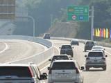 Đường cao tốc Bắc Giang – Lạng Sơn được thông xe kỹ thuật vào ngày 29/9 (Nguồn: bgls.vn)