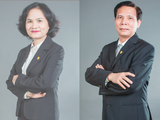 Bà Phạm Minh Hương cùng chồng - ông Vũ Hiền - nắm giữ vị trí lãnh đạo cấp cao tại VNDirect và Tập đoàn I.P.A (Ảnh: VND)