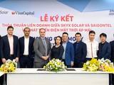 Buổi lễ ký kết giữa SkyX Solar và SAIGONTEL