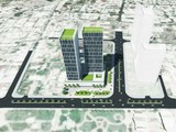 Phối cảnh dự án khách sạn trên khu đất K200 (Ảnh: binhdinhinvest.gov.vn)