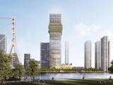Phối cảnh dự án Capitaland Tower trên một số trang môi giới bất động sản