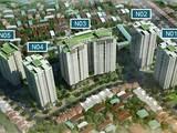 Vị trí các tòa tháp tại Berriver Long Biên (Ảnh: Internet)