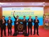 Cổ phiếu NAB của Ngân hàng TMCP Nam Á đã chính thức niêm yết và giao dịch trên sàn Upcom (Nguồn: HNX)