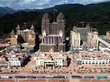 Đặc khu kinh tế Boten ở biên giới Lào - Trung Quốc đang được xây dựng.