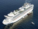 Du thuyền Diamond Princess hiện đã trở thành trại cách ly trên biển với khoảng 3.700 người trên tàu (Ảnh: AP)