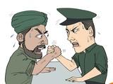 Cuộc đọ sức căng thẳng giữa Trung Quốc và Ấn Độ ngày càng gia tăng trên các lĩnh vực (Biếm họa của Đa Chiều).