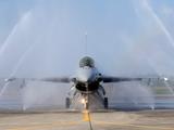 Máy bay chiến đấu F-16V được Mỹ bán cho Đài Loan năm 2019 (Ảnh: VOA).