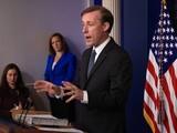 Cố vấn An ninh Quốc gia Mỹ Jake Sullivan tuyên bố tại cuộc họp báo chiều 17/8: cam kết của Mỹ đối với Đài Loan vẫn mạnh mẽ như từ trước tới nay (Ảnh: AP).
