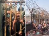 Hình ảnh các bà mẹ Afghanistan ném con qua hàng rào nhờ cứu giúp gây chấn động (Ảnh: TGNB).