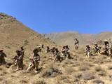 Lực lượng nổi dậy của Mặt trận Kháng chiến quốc gia được tổ chức chặt chẽ, chiếm địa thế có lợi (Ảnh: Xinhua).