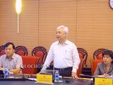 Ông Phan Thanh Bình – Chủ nhiệm Ủy ban VHGDTTN&NĐ của Quốc hội chủ trì cuộc họp với Bộ GD&ĐT