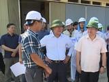 Thứ trưởng Bộ GTVT Nguyễn Văn Công (thứ 2 trái sang, hàng trên) bị kỷ luật cảnh cáo