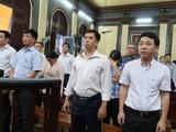 Các bị cáo tại phiên tòa xét xử vụ VN Pharma. (Ảnh: soha)