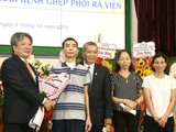 Bệnh viện Việt Đức tiễn bệnh nhân ghép phổi thứ 2 ra viện