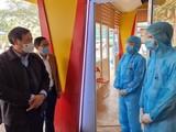Thứ trưởng Bộ Y tế Đỗ Xuân Tuyên – Phó Ban Chỉ đạo Quốc gia phòng , chống dịch COVID-19 kiểm tra công tác phòng, chống dịch COVID-19 tại Hải Phòng