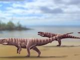 Nhìn hình ảnh này, loài cá sấu cổ đại trông khác khủng long bạo chúa là mấy. Ảnh: News Info Park