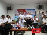 Chiều 19/11, cuộc hội ngộ bất ngờ, đầy ý nghĩa của những người cựu binh Gạc Ma được diễn ra ngay tại khu điều trị của cựu binh Dương Văn Dũng