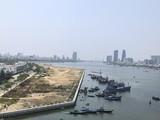 Dự án Bất động sản và bến du thuyền Đà Nẵng với bờ kè bê tông lấn ra sông Hàn