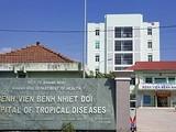 Bệnh viện Bệnh Nhiệt đới tỉnh Khánh Hòa, nơi nữ lễ tân khách sạn ở Nha Trang nhập viện điều trị bệnh viêm phổi cấp do nhiễm virus Corona chủng mới (ảnh SGGP)