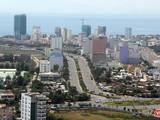 Một góc đô thị bờ đông sông Hàn TP Đà Nẵng