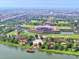 Một góc TP Huế nhìn từ trên cao (Ảnh Sở TTTT Thừa Thiên Huế)