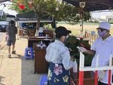 Chốt kiểm soát dịch COVID-19 của tỉnh Quảng Nam trên tuyến đường bộ nối Đà Nẵng với tỉnh này