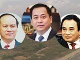 """Cựu Chủ tịch UBND TP Đà Nẵng gồm ông Trần Văn Minh (trái), Văn Hữu Chiến (phải) và Vũ """"nhôm"""" (giữa), ảnh Anh Lê"""
