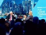 Ông Rubenstein trò chuyện trong show truyền hình nổi tiếng của ông trên kênh Bloomberg.