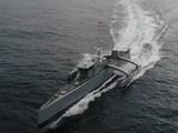 """Chiến hạm không người lái """"Sea Hunter - Thợ săn biển"""" do Hải quân Mỹ phát triển và thử nghiệm. Ảnh Defense News"""
