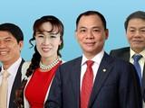 Việt Nam đã có 4 tỷ phú lọt vào danh sách xếp hạng của Forbes