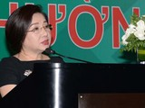 Trước làn sóng chỉ trích, bà Nguyễn Thị Như Loan trực tiếp đứng ra nhận lỗi về mình. Ảnh tư liệu: QCG