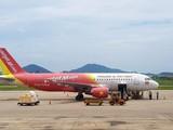 Cục Hàng không Việt Nam đã đình chỉ tổ bay hạ cánh nhầm đường băng ở Cam Ranh, dừng tăng chuyến Vietjet Air. (Ảnh minh họa)