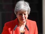 Thủ tướng Anh Theresa May tuyên bố từ chức vào chiều 24/5 (Ảnh: CNN)