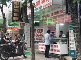 Một cửa hàng bán SIM - thẻ điện thoại. Sau gần 2 năm khi Nghị định số 49/2017/NĐ-CP có hiệu lực, đến nay hoạt động kinh doanh, buôn bán SIM rác vẫn diễn ra.