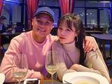 Huỳnh Anh là bạn gái mới của Quang Hải sau mối tình nhiều năm với Nhật Lê (ảnh:FB)