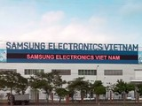 Nhà máy sản xuất smartphone của Samsung tại Bắc Ninh