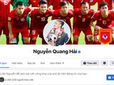 Facebook cá nhân của Quang Hải bị dân mạng để lại bình luận không hay