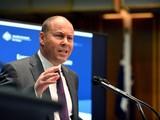 Bộ trưởng Tài chính Úc Josh Frydenberg (ảnh: Bloomberg)