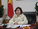 Trường hợp các doanh nhân chuyển ngạch sang đường chính trị như Thứ trưởng Công thương Hồ Thị Kim Thoa không phải là hiếm. (Ảnh: Vietnam+)