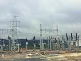 Một dự án điện do Tổng Công ty Tân Hoàn Cầu đầu tư tại Quảng Trị. (Ảnh: Dân trí)