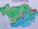 Vị trí KCN Texhong Hải Hà. (Ảnh: QTV)
