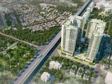 Dự án Tòa nhà hỗn hợp Văn Phú Complex còn có tên thương mại là Grandeur Palace – Phạm Hùng. (Ảnh: Internet)