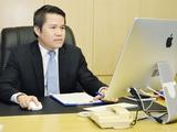 Quyền Tổng Giám đốc Tổng công ty Hàng Hải Việt Nam, ông Nguyễn Cảnh Tĩnh. (Ảnh: Vinalines)